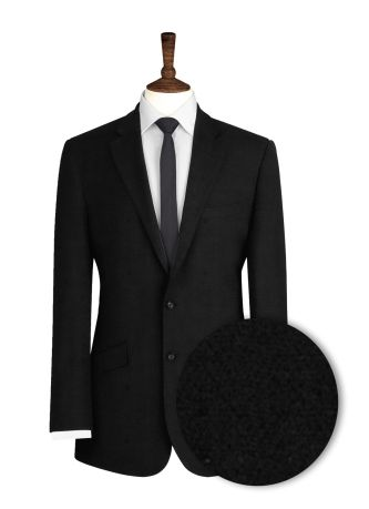 Black-Herringbone-Suit