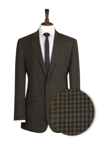Houndstooth-Brown