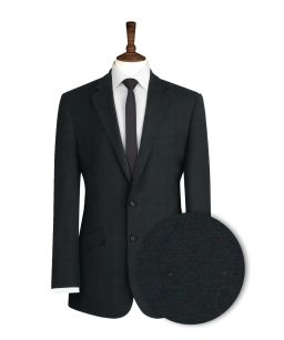 Dark-Navy-Herringbone-Suit