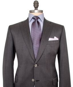 Charcoal-Herring-Bone-Suit