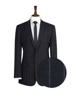 Black-Pinstripe-Suit